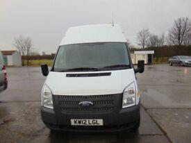 2012 Ford Transit 2.2TDCi ( 125PS ) ( EU5 ) ( RWD ) 350L 350 LWB