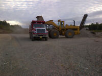 "Class A and C gravel,  1 "" crushed stone, 2""stone ,soil and fill"