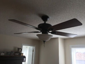 52 INCH CEILING FAN WITH LIGHT