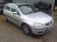 VAUXHALL CORSA 1.2 SXI 5 DOOR NEW MOT
