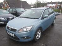 2008 Ford Focus Hatch 5Dr 1.6 100 Zetec Auto4 Petrol blue Automatic