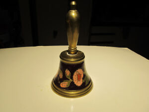 Painted over brass bell.