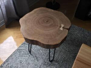 Rondin buche billot liveedge live edge brute bois planche slab