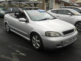 2004 VAUXHALL ASTRA 1.8 16V Bertone Convertible From GBP1,995 + Retail Package