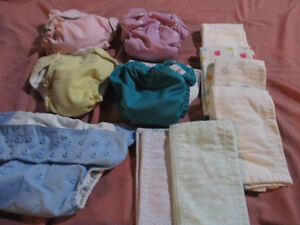 cloth diapers adjustable with inserts