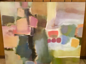 Abstract large poster laminated by Ah Some Art