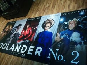 Zoolander 2 movie poster 5 feet high by 12 feet long