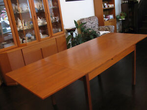 Teak Table Danish Mid Century Modern ( Reduced)