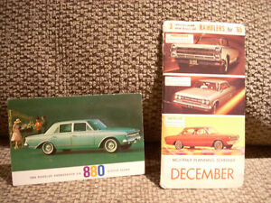 1963 and 1965 AMC advertising