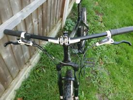 "Carrera vengeance Ltd 18"" mountain bike with hydraulic brakes"