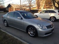 2005 INFINITI G35X AWD AUTOMATIC LEATHER LOADED REMOTE STARTER