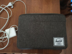 MacBook Air with case