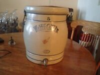 Antique Red Wing 5 Gallon Water Cooler Crock