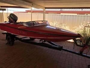 Sportscraft 15 foot ski boat 85hp 2 stroke text only. Mount Barker Mount Barker Area Preview