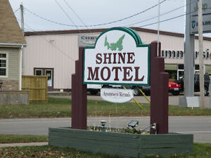 Shine Motel's suites are available now