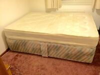 Standard Size Divan Bed and Orthopaedic Mattress