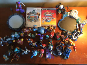Skylanders superchargers game and mixed characters