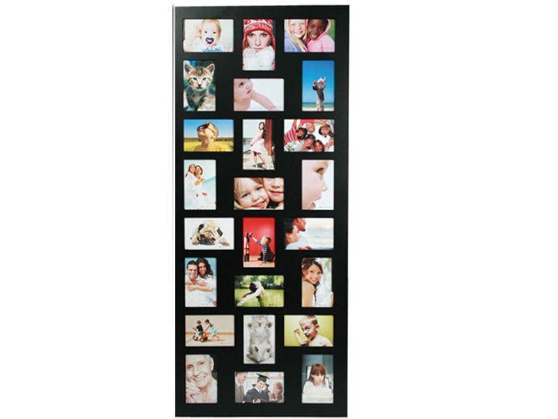 black collage photo frame ebay. Black Bedroom Furniture Sets. Home Design Ideas