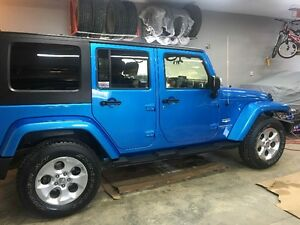2010 Jeep Wrangler Unlimited Sahara SUV, Crossover