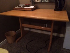 Solid pine table/desk
