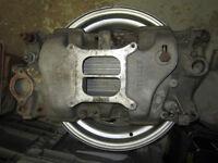 1969 Camaro SS Rally Rims, 327 350 intake Holley carburetor