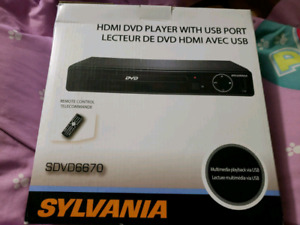 Sylvania SDVD6670 HDMI DVD Player
