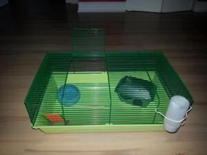 Cage à Hamster avec accessoires