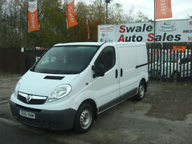 2010 VAUXHALL VAVARO 2.0CDTi SWB PANEL VAN IN GREAT CONDITION
