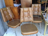 3 Vintage Dining Room Chairs