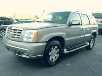 2003 Cadillac Escalade AWD,Leather,Roof, ice cold air, loaded