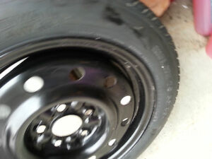 Spare tire with 5 holes rim - T135 /TOR 15 99 M