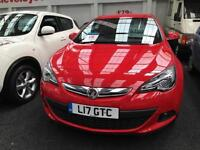 2012 VAUXHALL ASTRA GTC 1.4T 16V 140 SRi From GBP8950+Retail package.