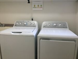 High Efficiency Washer and Dryer - General Electric