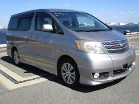 TOYOTA ALPHARD, 2005, AUTOMATIC, 3.0, PETROL, 46,000 MILES IN SILVER