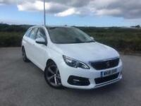 2018 Peugeot 308 SW 1.5 Blue HDI 130 Allure Manual Estate