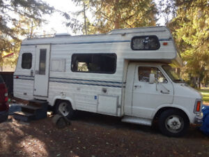 Class C Motorhome for sale REBUILT engine