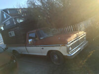 1973 Ford F-100 Explorer Package Pickup Truck Rare Options