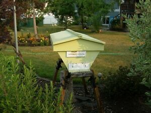 2 X Top bar bee hives for sale complete with full suits and more