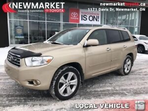 2008 Toyota Highlander Limited  - trade-in - local