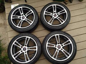 Street Gear Spyn Rims with Sport Tires