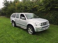 Isuzu redeo Denver le Max 3ltr turbo diesel 4x4 double cab 56reg 1 year mot