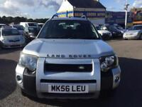 2006 LAND ROVER FREELANDER AUTOMATIC ADV-TURER TD A SILVER