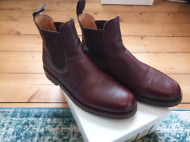 Men's Leather Chelsea Boot (Hogg's Atholl) Size 10.5 UK