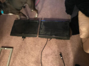 22 inch flat screen TVs asking 50 for ech or best offer