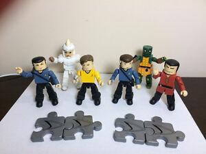 "Star Trek ""Mini Mates"" (2002) - full set (6) - perfect condition"