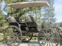 Carriage ... original from the 1800's