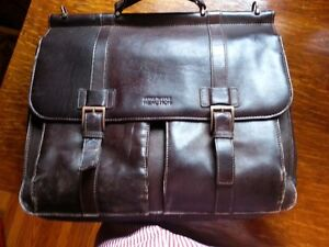 all leather Kenneth Cole/Reaction laptop bag