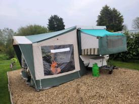 Conway laser folding camper