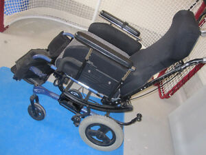 Tilting Wheelchair - Quickie Tilting Wheelchair - $475.00 London Ontario image 2
