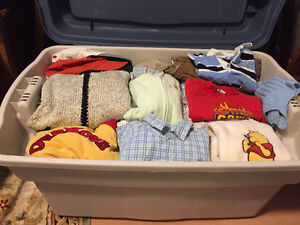 Various boys clothing from newborn to 2T